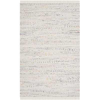 Penrock Flatweave Cotton Beige Area Rug - AllModern