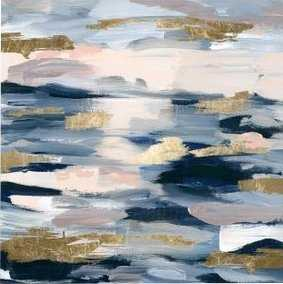 'Smoke on the Water Abstract Art' Wrapped Canvas Print - Wayfair