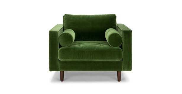 Sven Grass Green Chair - Article