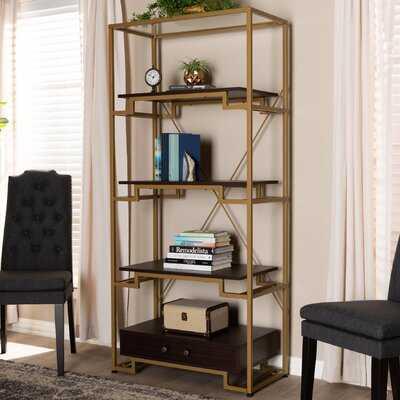 Buchholz Modern and Contemporary Etagere Bookcase - Wayfair