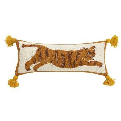 Justina Blakeney Tiger Pom Pom Hook Lumbar Pillow - Wayfair