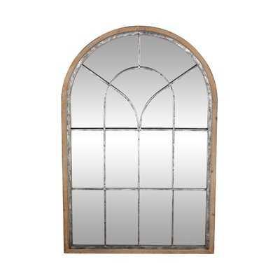 Gatton Rustic Arched Accent Mirror - Wayfair