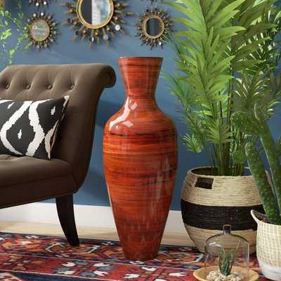 Amaury Tall Bamboo Floor Vase - Wayfair