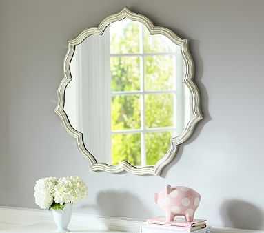 Silverleaf Petal Mirror - Pottery Barn Kids