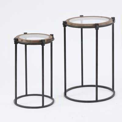 Hollard Frame Nesting Tables (Set of 2) - Wayfair