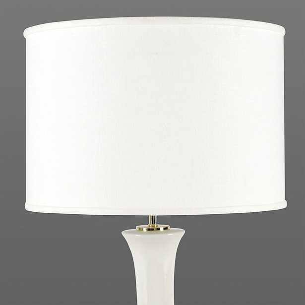 "Ballard Designs Couture Drum Lamp Shade Flax 14"" - Ballard Designs"