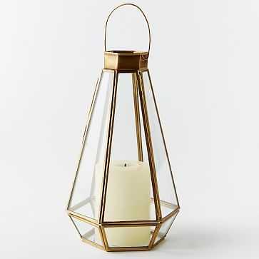 Faceted Lantern, Extra Large - West Elm