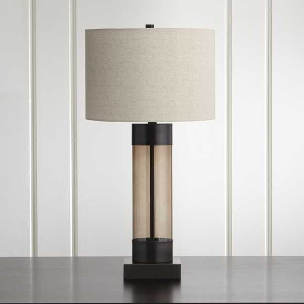Avenue Bronze Table Lamp with USB Port, Set of 2 - Crate and Barrel