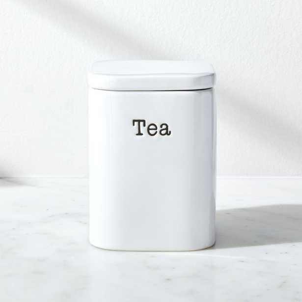 Tea Storage Canister - Crate and Barrel