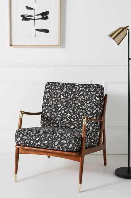 Printed Haverhill Chair - Anthropologie