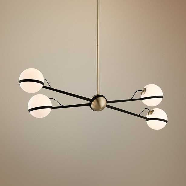 """Ace 49 1/2"""" W Bronze and Brushed Brass Pendant Light - Style # 9R645 - Lamps Plus"""