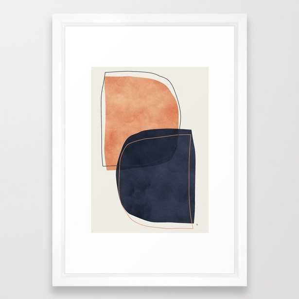 Nova Framed Art Print by Matadesign - Society6