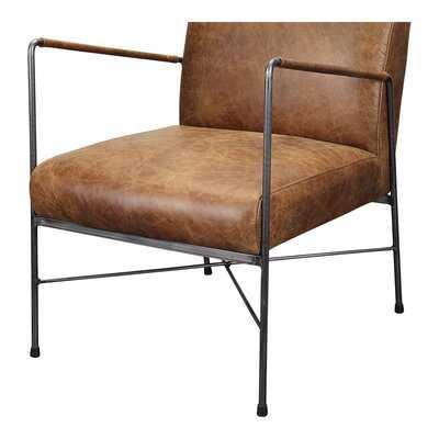 Shaver Leather Armchair - Wayfair