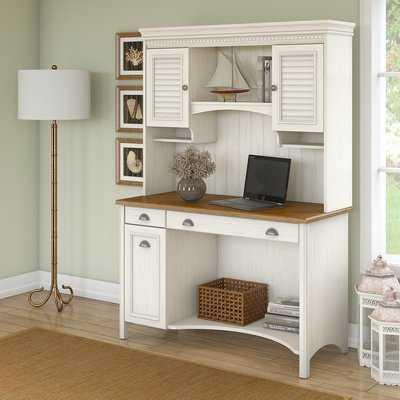 Resaca Computer Desk with Hutch - Wayfair