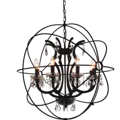 Margo 8-Light Globe Chandelier - Wayfair