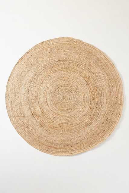 Handwoven Lorne Round Rug 4' - Anthropologie