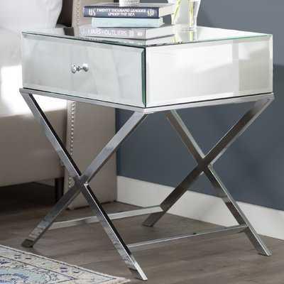 Desidério End Table With Storage - AllModern