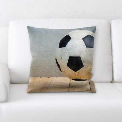 Langley Soccer Ball (3) Throw Pillow - Wayfair