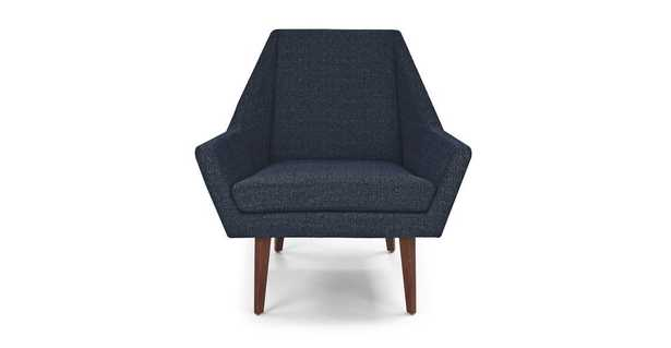 Angle Denim Blue Chair - Article