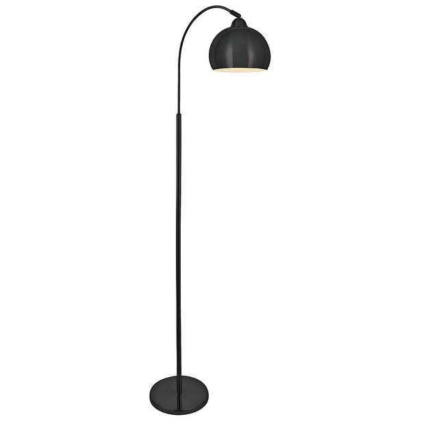 Lite Source Palesa Dark Bronze Metal Floor Lamp - Style # 33F08 - Lamps Plus