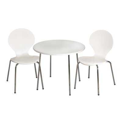 Shevchenko Place Kids 3 Piece Writing Table and Chair Set - AllModern
