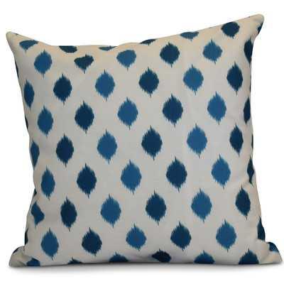 Hanukkah 2016 Decorative Holiday Geometric Outdoor Throw Pillow - Wayfair