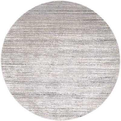 Bridgeton Gray/Gray Sleek Area Rug - Birch Lane