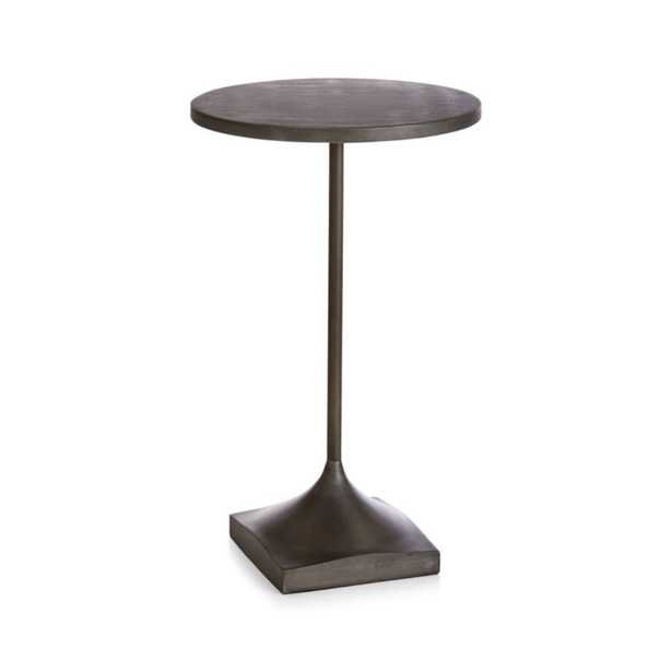 Prost Small Metal Drink Table - Crate and Barrel