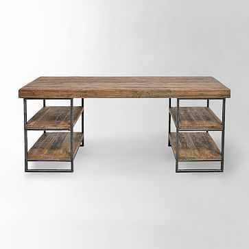 Hewn Wood Desk - West Elm