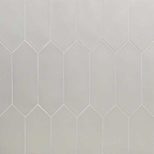 Splashback Tile Russell Light Gray 4 in. x 12 in. 10 mm Matte Porcelain Subway Floor and Wall Tile (40 pieces 10.76 sq. ft. / Box) - Home Depot
