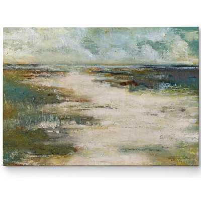 Premium 'Misty Coast' by Janet Brignola Painting Print on Wrapped Canvas - Wayfair