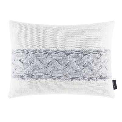 Claridge Stripe Knit Throw Pillow - Wayfair