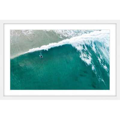 'Riding the Wave' Framed Photographic Print - AllModern