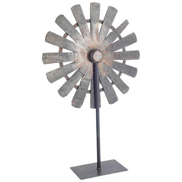 Mercana Citadel III Decorative Object, Silver - Home Depot