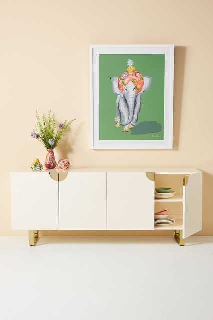 Lacquered Glinda Sideboard - Anthropologie
