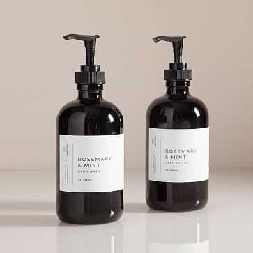 Lightwell x Water Street Hand Soap and Lotion, Rosemary + Mint - West Elm