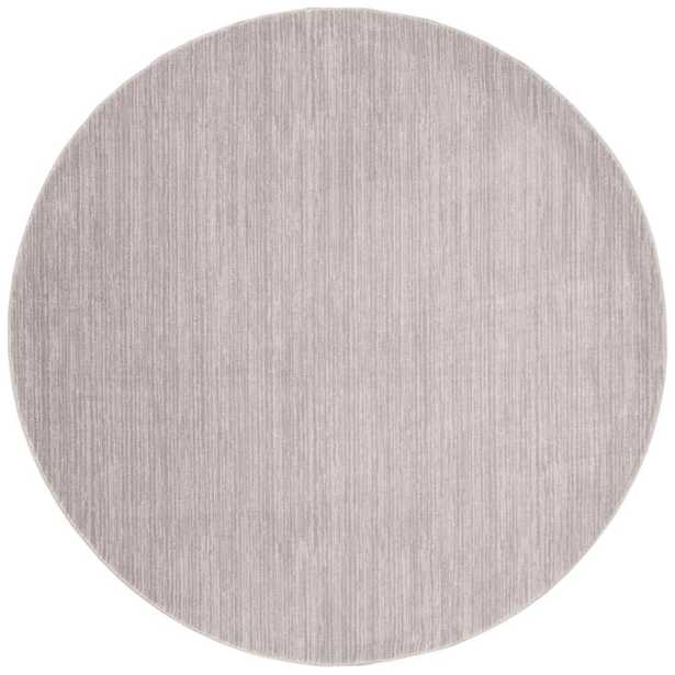 Safavieh Vision Silver 5 ft. x 5 ft. Round Area Rug - Home Depot