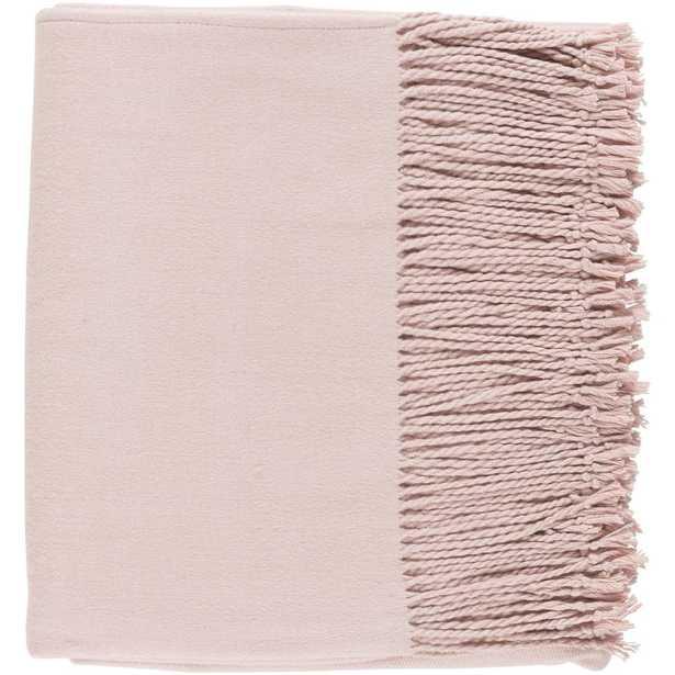 Dunton Blush Throw, Reds/Pinks - Home Depot
