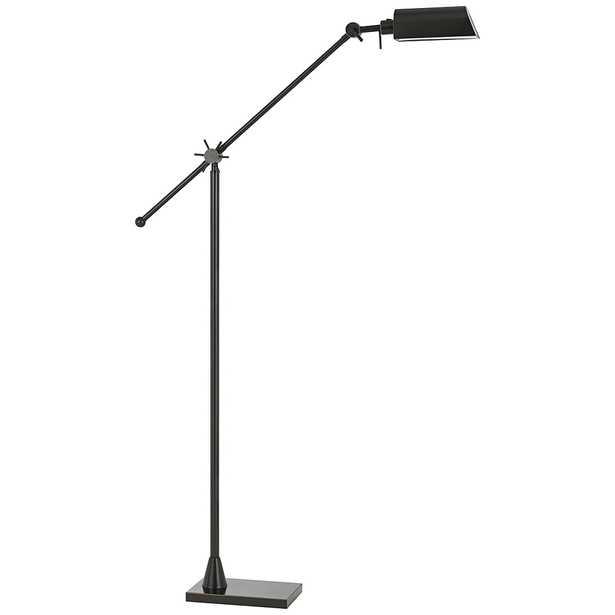 Kaline LED Dark Bronze Adjustable Pharmacy Floor Lamp - Style # 10T80 - Lamps Plus