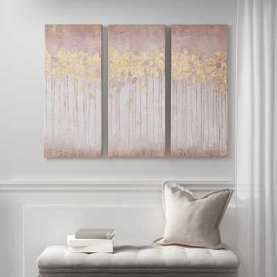 'Gel Coated' 3 Piece Painting Set on Canvas - Wayfair