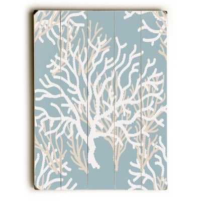 Coral Pattern' Graphic Art Print - Wayfair