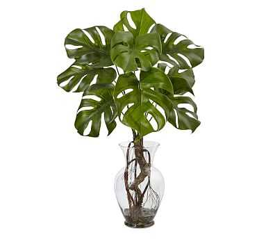 Faux Potted Monstera Plant - Pottery Barn