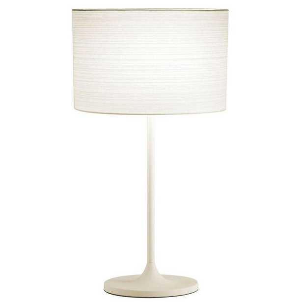 Adesso Oslo 22.5 in. White Table Lamp - Home Depot