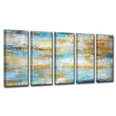 Ocean Treasure 5 Piece Painting Print on Wrapped Canvas Set - Wayfair