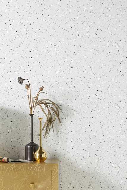 Spattered Wallpaper - Anthropologie