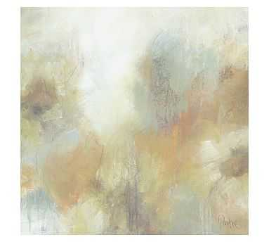 """Reminiscent Floral Canvas, 36 x 36"""" - Pottery Barn"""