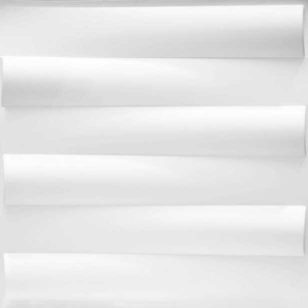 19.7 in. x 1 in. x 19.7 in. White PVC Fiber 3D Wall Panels (12-Pack), Lw3d810a White - Home Depot