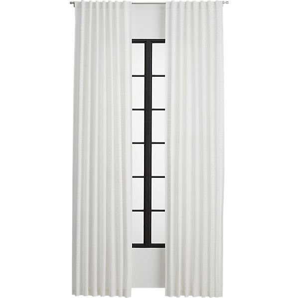 "Radiant curtain panel - 84"" - CB2"