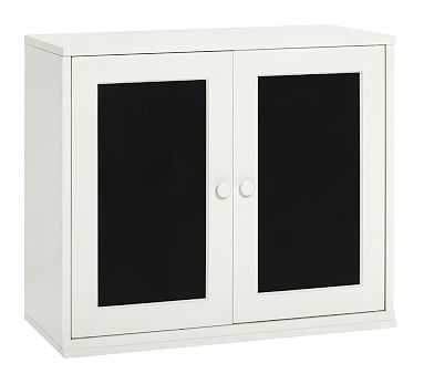 Cameron Chalkboard Cabinet, Simply White, Flat Rate - Pottery Barn Kids