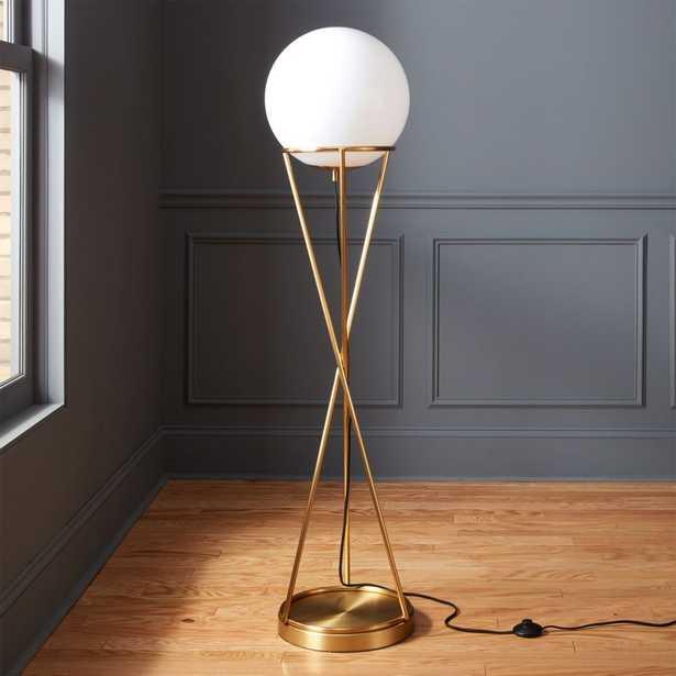 Solis Globe Floor Lamp - CB2